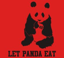 LET PANDA EAT One Piece - Short Sleeve