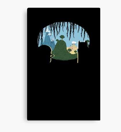 A View of Ooo Canvas Print