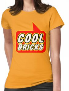 Cool Bricks, Bubble-Tees.com Womens Fitted T-Shirt