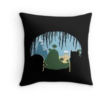 A View of Ooo Throw Pillow