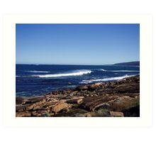 Indian Ocean - SW Australia  Art Print