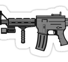 AR-15 Realistic Sticker