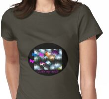 Color my World Womens Fitted T-Shirt