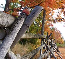 Smiths Falls in Fall by JulieTyler