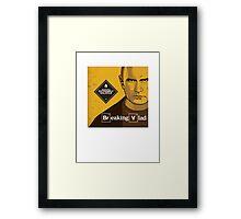"Vladimir Putin - ""Breaking Vlad"" Framed Print"