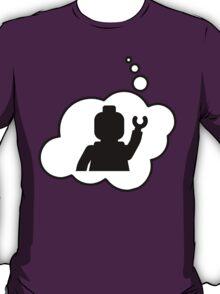 Minifig Waving, Bubble-Tees.com T-Shirt
