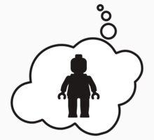 Minifig Man, Bubble-Tees.com Kids Tee