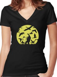 Strength in Numbers Women's Fitted V-Neck T-Shirt