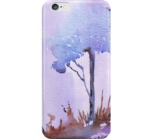 The lonely Blue gum iPhone Case/Skin