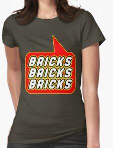 Bricks Bricks Bricks, Bubble-Tees.com Womens Fitted T-Shirt