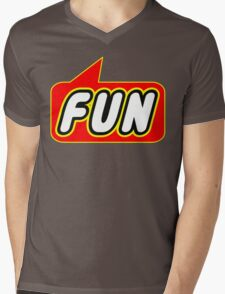 Fun, Bubble-Tees.com Mens V-Neck T-Shirt