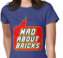 Mad About Bricks, Bubble-Tees.com Womens Fitted T-Shirt