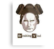"""""""Breaking Vlad"""" - Vladimir Putin Cooking Crystal Metal Print"""