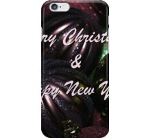 Christmas New Year Card iPhone Case/Skin
