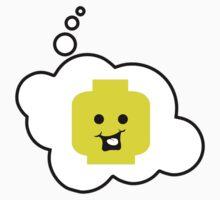 Cheeky Minifig, Bubble-Tees.com One Piece - Short Sleeve