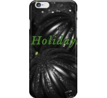 Happy Holidays Card iPhone Case/Skin