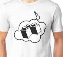 2x2 Corner Brick, Bubble-Tees.com Unisex T-Shirt