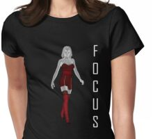 Focus T Womens Fitted T-Shirt