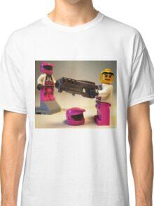 Halo Wars Pink Spartan Soldier Custom Minifigure Classic T-Shirt