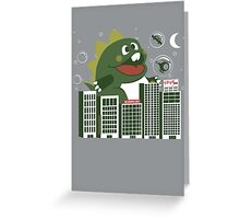 Bubzilla Greeting Card