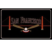 San Francisco Baseball Photographic Print