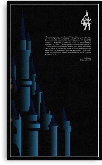 1971 - Magic Kingdom by scbb11Sketch
