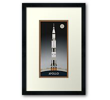 Apollo Launch Framed Print
