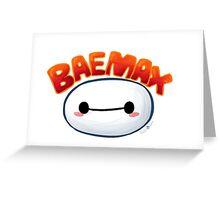 Baemax Greeting Card