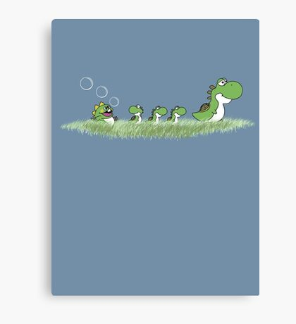 The Ugly Dragoling Canvas Print