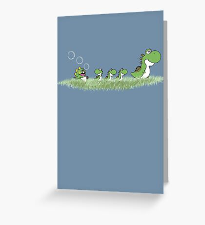 The Ugly Dragoling Greeting Card
