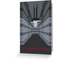 Cyberdyne Systems Greeting Card