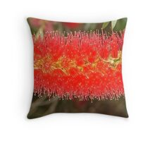 A Rush in the Brush Throw Pillow