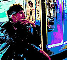 Neon Punk by David Mann