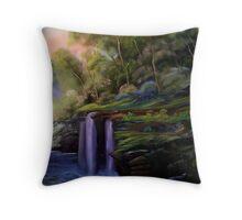`      WATERFALL FANTASY Throw Pillow