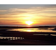 Sunset on the Irish Sea Photographic Print
