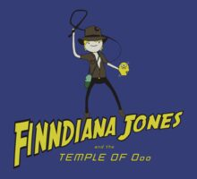 Finndiana Jones and the Temple of Ooo by danobanano
