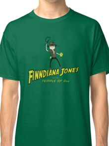 Finndiana Jones and the Temple of Ooo Classic T-Shirt