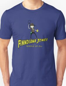 Finndiana Jones and the Temple of Ooo Unisex T-Shirt