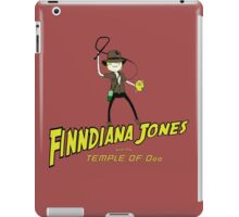 Finndiana Jones and the Temple of Ooo iPad Case/Skin