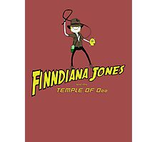 Finndiana Jones and the Temple of Ooo Photographic Print