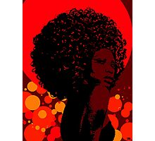 Black Diva Photographic Print