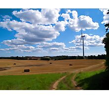 Modern clean alternative energy Photographic Print