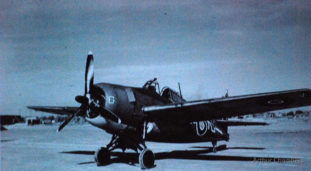 British fighter  by Arthur Chambers