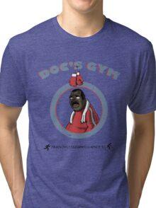 Training Time at Doc's Gym Tri-blend T-Shirt
