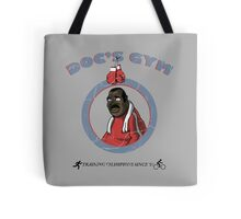Training Time at Doc's Gym Tote Bag
