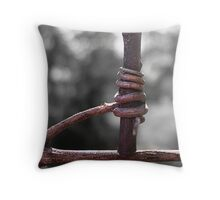Hold Tight! Throw Pillow