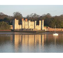 Upnor Castle at Dawn Photographic Print