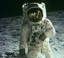 Neil Armstrong by APfreeski4