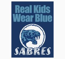Sturt Sabres - Real Kids Wear Blue by 23jd45