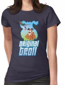 Duck Hunt - The Original Troll Womens Fitted T-Shirt